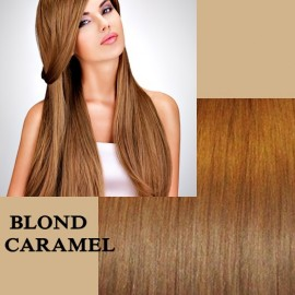 Clip-On Deluxe Blond Caramel