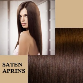 Clip-on Deluxe Saten Aprins
