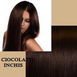 Clip-On Deluxe Ciocolatiu Inchis