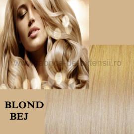 Extensii Nanoring Deluxe Blond Bej