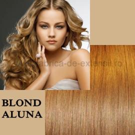 Extensii Nanoring Deluxe Blond Aluna