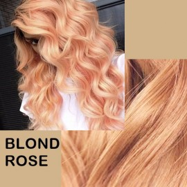 Extensii Nanoring Deluxe Blond Rose