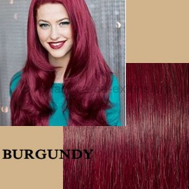 Set Easy Clip-On Deluxe Burgundy
