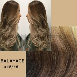 Set Easy Clip-On Deluxe Balayage #18/#6