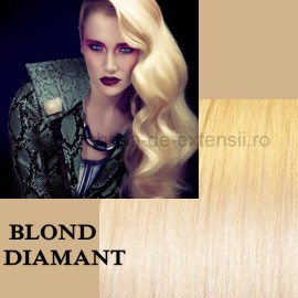 Extensii Tape IN DeLuxe Blond Diamant
