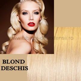 Extensii Front Lace (Semiperuca) DeLuxe Blond Deschis