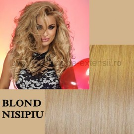 Extensii Tape IN DeLuxe Blond Nisipiu