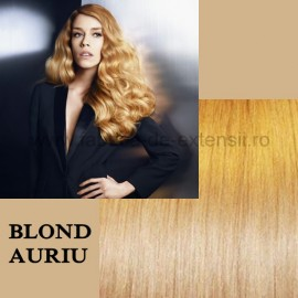 Extensii Tape IN DeLuxe Blond Auriu