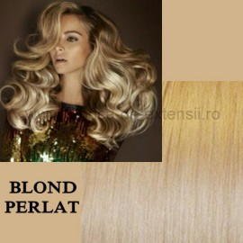 Extensii Front Lace (Semiperuca) DeLuxe Blond Perlat