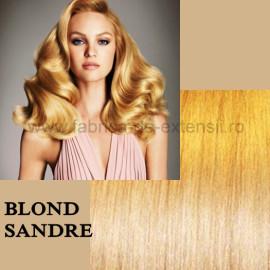 Extensii Tape IN DeLuxe Blond Sandre