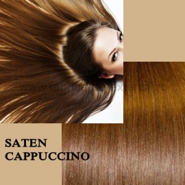 Extensii Tape IN DeLuxe Saten Cappuccino