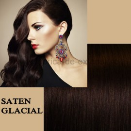 Extensii Front Lace (Semiperuca) DeLuxe Saten Glacial