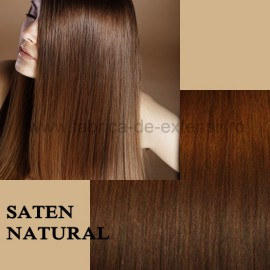 Extensii Front Lace (Semiperuca) DeLuxe Saten Natural