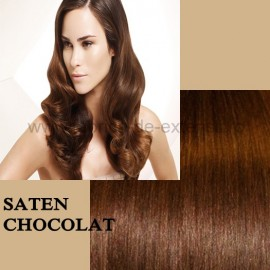 Extensii Front Lace (Semiperuca) DeLuxe Saten Chocolat