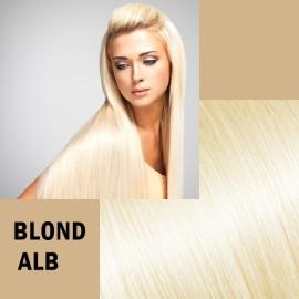 Trese de Par Deluxe Blond Alb