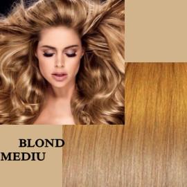 Trese de Par Deluxe Blond Mediu