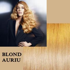 Microring Diamond Blond Auriu