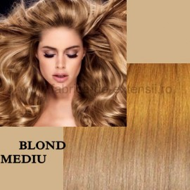 Extensii Tape IN Diamond Blond Mediu
