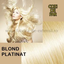 Cozi de Par Blond Platinat