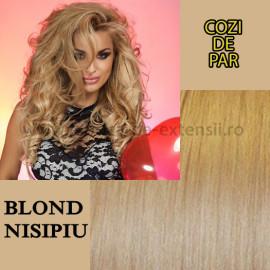 Cozi de Par Blond Nisipiu