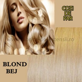 Cozi De Par Blond Bej