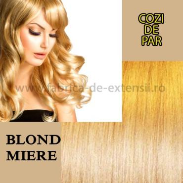 Cozi de Par cu Dubla Intrebuintare Blond Miere