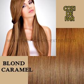 Cozi de Par cu Dubla Intrebuintare Blond Caramel