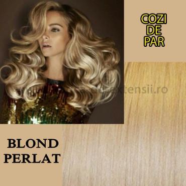 Cozi De Par Cu Dubla Intrebuintare Blond Perlat