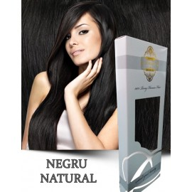 White Platinum Negru Natural