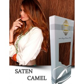 White Platinum Saten Camel