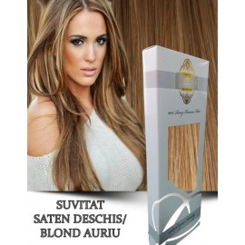 White Platinum Suvitat Saten Deschis Blond Auriu